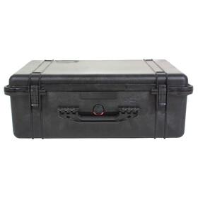 Peli 1600 Box med skumindsats orange/hvid